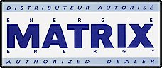 Distributeur autorisé énergie MATRIX Energy Authorized Dealer