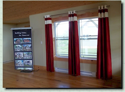 On Display in our Model Home: Exclusive Window Coverings: